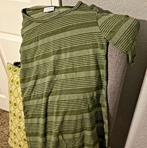 LuLaRoe Midi Dress - great condition & soft!